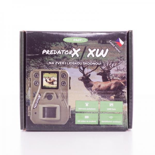 Fotopast PREDATOR X + 16GB SD karta, 4ks baterií a doprava ZDARMA!