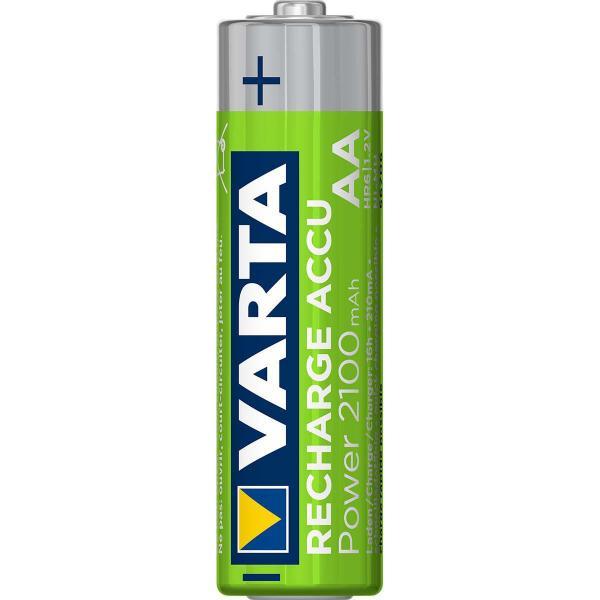 OXE Nabíječka baterií AA na 12 ks a 12 ks nabíjecích baterií Varta 56706 R6 2100mAh NIMH basic