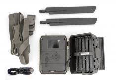 Fotopast OXE Panther 4G, externí akumulátor a napájecí kabel + 32GB SD karta, SIM, 12ks baterií a doprava!