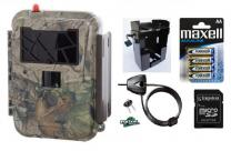 Fotopast UOVision UM 595 3G + 8GB SD karta, SIM, 12ks baterií, box, lanový zámek